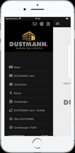 DUSTMANN. App